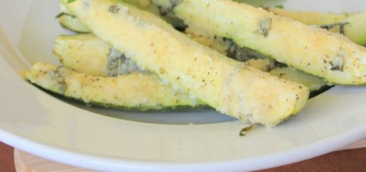 Basil, Garlic, Parmesan Zucchini Spears | KitchenCents.com