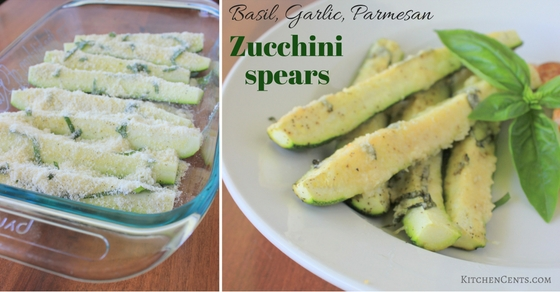 basil-garlic-parmesan-zucchini-spears-kitchencents-com