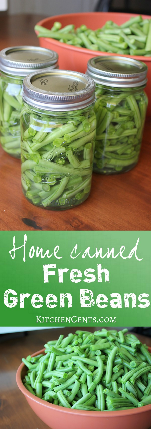 home-canned-fresh-green-beans | KitchenCents.com