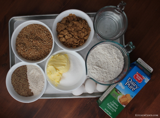 bran-muffin-ingredients | KitchenCents.com