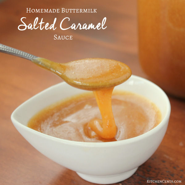 buttermilk-salted-caramel-sauce | KitchenCents.com