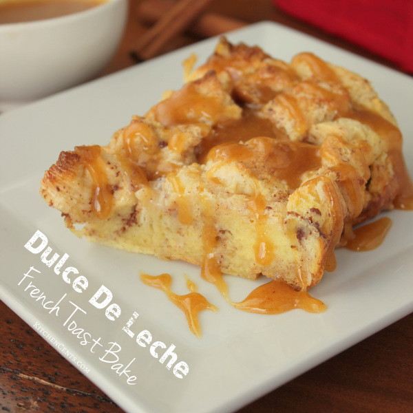 dulce-de-leche-french-toast-bake | KitchenCents.com