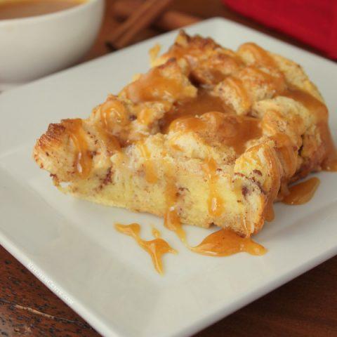 Dulce De Leche French Toast Bake