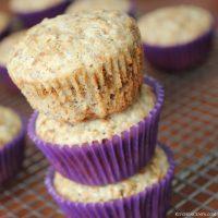 High Fiber Flax seed Bran Muffins