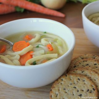 Homemade Chicken Noodle Soup | KitchenCents.com