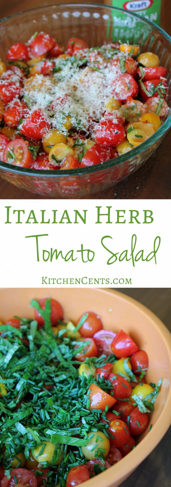 italian-tomato-herb-salad | KitchenCents.com