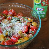 Tomato Salad with fresh Italian Herbs
