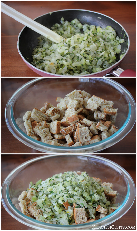 Steps for stuffing | KitchenCents.com