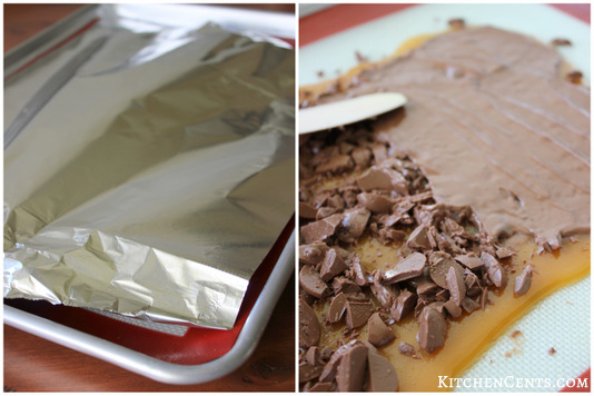 Old English Almond Toffee | KitchenCents.com