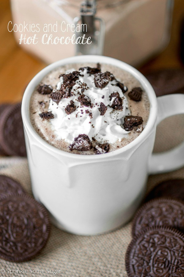 Cookies and Cream Hot Chocolate | 15+ Hot Chocolate recipes