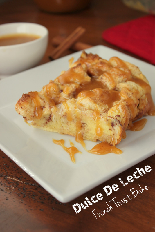 Dulce De Leche French Toast Bake | 21+ Christmas Morning Breakfast Ideas