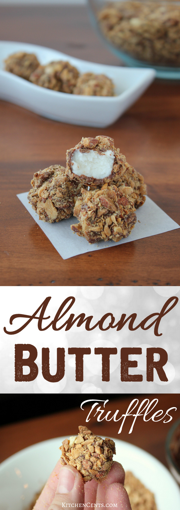 Almond Butter Truffles | KitchenCents.com