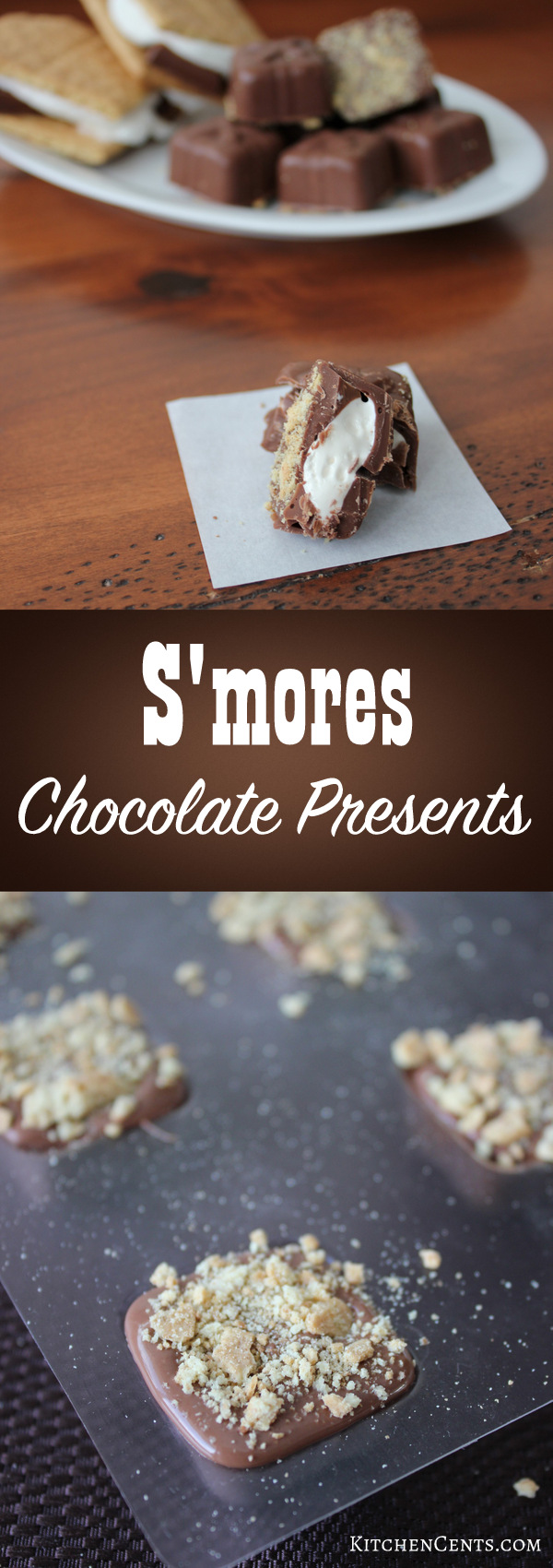 S'mores chocolates | KitchenCents.com