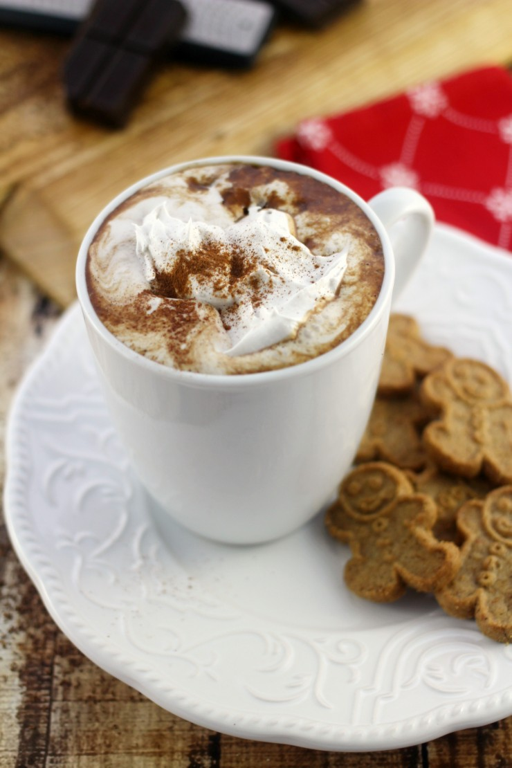 Gingerbread Hot Chocolate | 15+ Hot Chocolate recipes