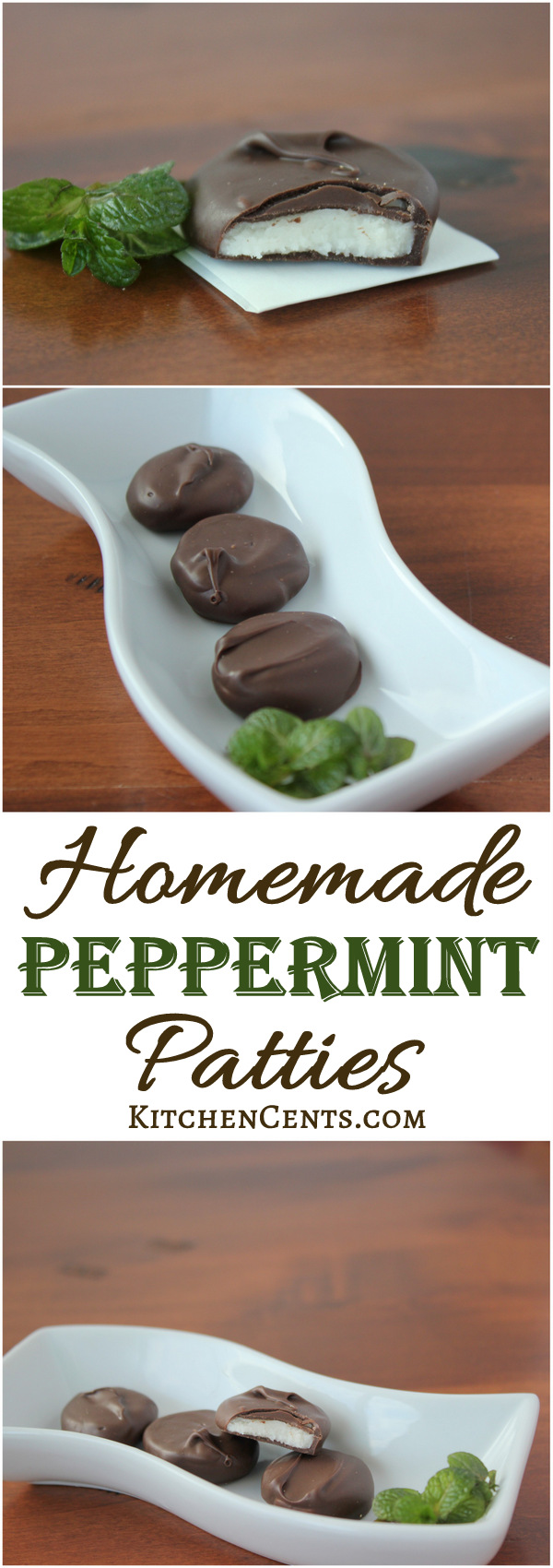 Homemade Peppermint Patties | KitchenCents.com