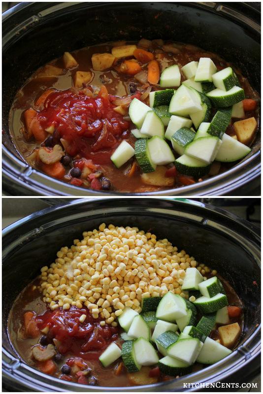 Turkey, Sweet Potato and Veggies Chili Chowder | KitchenCents.com