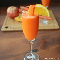 Carrot Citrus Sunrise Mocktail