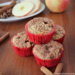 Easy Cinnamon Apple Oatmeal Breakfast Muffins