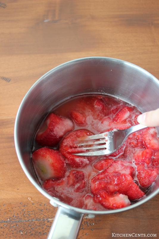Mash berries