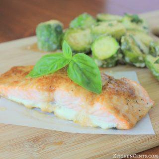 The BEST Savory Salmon Steaks | KitchenCents.com