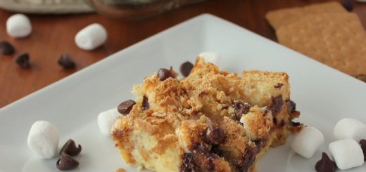 S'mores Bread Pudding | KitchenCents.com