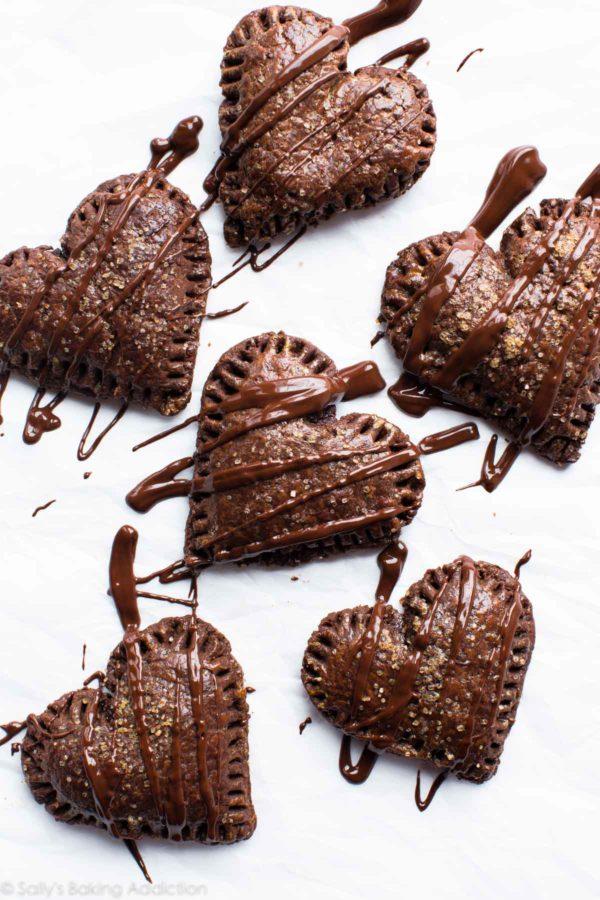 Chocolate Hand Pies | 27+ Chocolate Valentine's Desserts