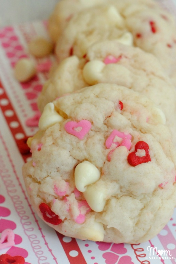 Chocolate Chip Cookie Valentines Truffle