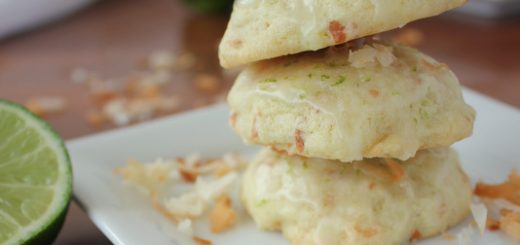 Toasted Coconut Lime Cookies | KitchenCents.com