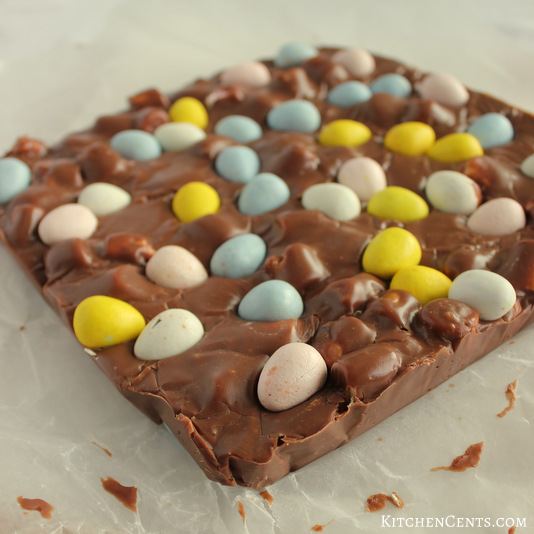 Chilled Easter Fudge