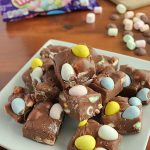 Easy 4-ingredient Easter Fudge