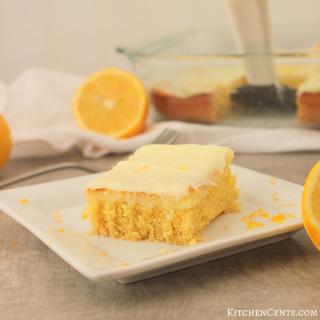 Easy Creamy Cake Mix Lemon Cheesecake Bars | KitchenCents.com