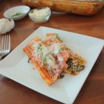 Easy No-Boil Spinach and Cheese Manicotti