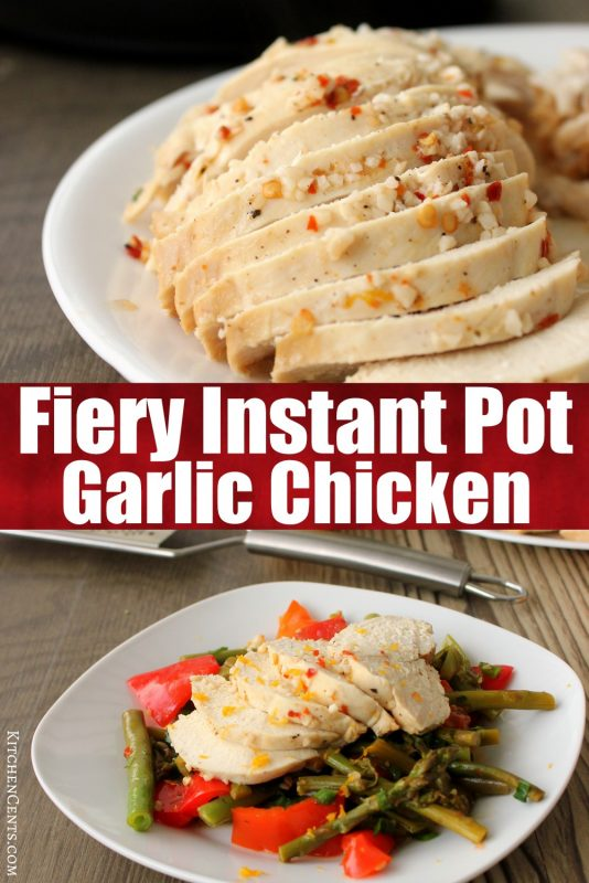 Easy Instant Pot Chicken with veggies | Kitchen Cents