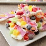Easy Healthy Frozen Yogurt Bark | Kitchen Cents