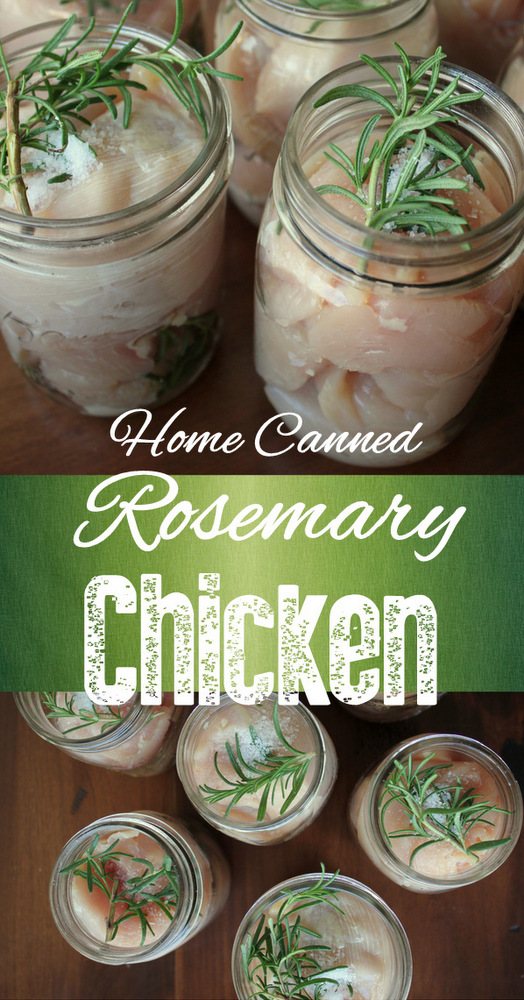 Home canned Rosemary Chicken | KitchenCents.com