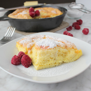 Sweet Baked Fluffy Omelet | KitchenCents.com