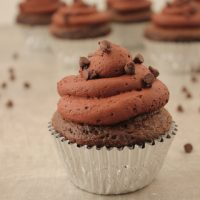 Easy Triple Chocolate Mousse Cupcakes