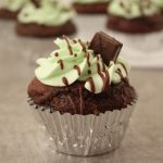The Best Andes Mint Chocolate Cupcakes