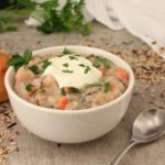 30-Minute Instant Pot Chicken and Wild Rice Soup