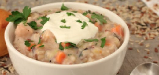 30-minute Instant Pot Chicken and Wild Rice Soup | KitchenCents.com