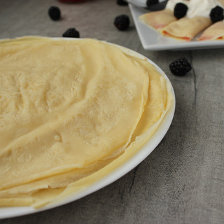 Danish Thin Pancakes Classic Crepes | KitchenCents.com