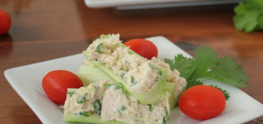 Healthy Tuna Salad Celery Sticks Snack   KitchenCents.com
