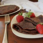 Easy Dairy Free Chocolate Crepes | KitchenCents.com