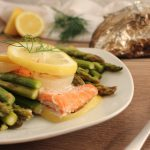 Lemon Garlic Salmon Tin Foil Dinner