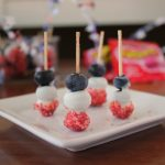 Patriotic Red, White & Blueberry Crackling Poppers