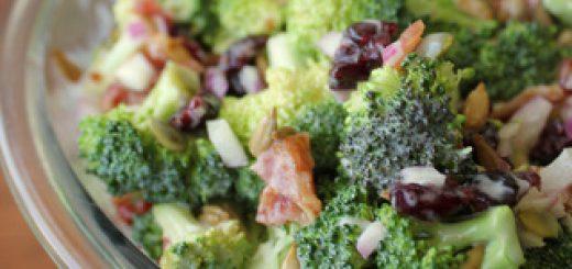 Easy Creamy Fresh Broccoli Salad   KitchenCents.com
