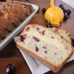 Lemon Cream Cheese Filled Cherry Bread