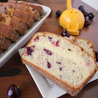 Lemon Cream Cheese Filled Cherry Bread | Kitchen Cents