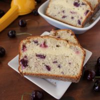 Lemon Cream Cheese Filled Cherry Bread | Kitchen Cents