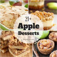 21+ Delicious Apple Desserts
